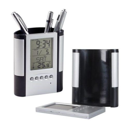 Loris tolltartó naptárral, órával és hőmérővel