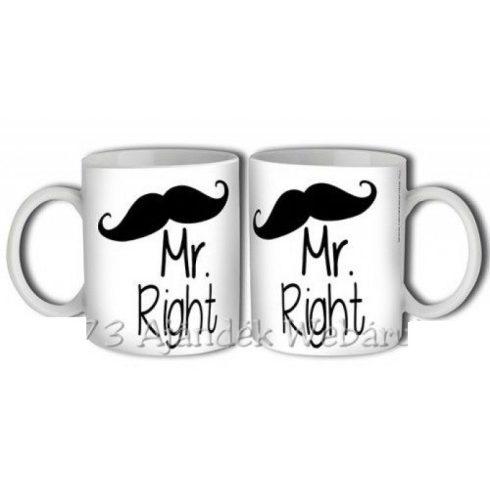 Mr Right bögre