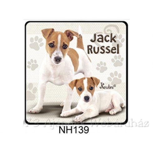 Jack Russel kutyás hűtőmágnes