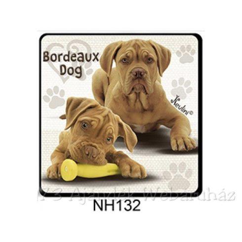 Bordeaux Dog kutyás hűtőmágnes
