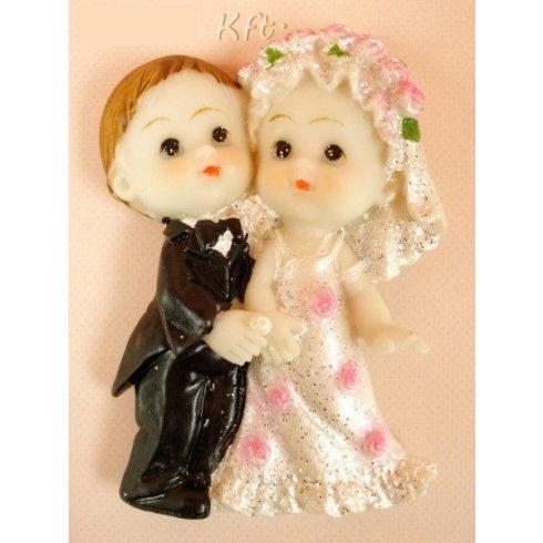 Esküvői hűtőmágnes