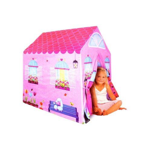 Lányos házikó, gyermek játszósátor