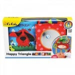 Ks Kids Boldog háromszög bébikönyv