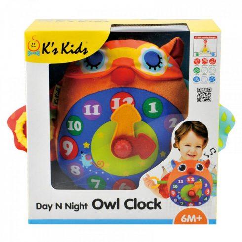 Ks Kids Baglyos zenélő óra