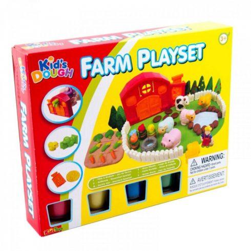 Farm építő gyurmakészlet