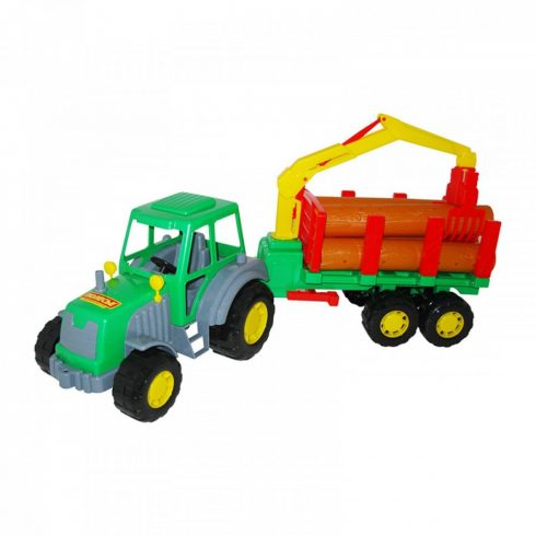 Altay Fákat szállító traktor