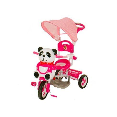 Pandás fedeles tricikli, 2 színben