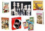 Kártyák, Póker szettek, Sakkok