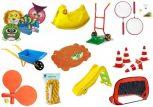 Kerti játékok, Homokozók, Fürdőszobai játékok
